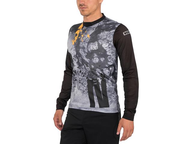 ION Scrub Camiseta Manga Larga Hombre, black